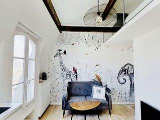 Charming apartment in the Marais / Appartement de charme au Marais
