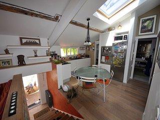 Appartement 4 personnes, proche de l'océan, golf, équitation, surf, restaurants.