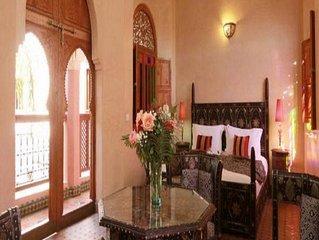 Suite Royal , Riad luxe avec piscine, Hammam & Spa dans Medina Marrakech