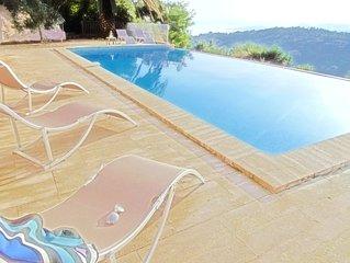 Baie de Saint Tropez - Belle maison, piscine privee, splendide vue