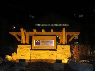 Hilton Sunrise Lodge 3 BR - Park City Canyons - March 16 - 23, 2019