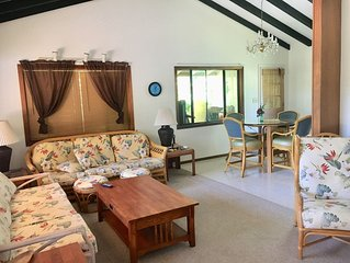 Up Country spacious open beam 3 bedroom home close to beach, airport, UpCountry
