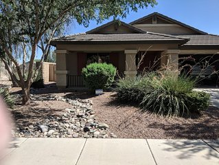 Beautiful, 3 bedroom ranch. 2175 Sq ft. Covered patio to enjoy the sunshine.