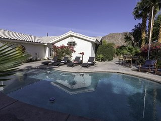 Beautiful La Quinta Cove salt water pool home on large double  lot - 4BR/3BA.