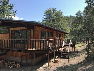 Wapiti Getaway near Mount Princeton Hot Springs, Nathrop, With private hot tub
