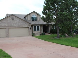Beautiful Home with Hot Tub 5 Miles  to Air Force Academy Sleeps 16