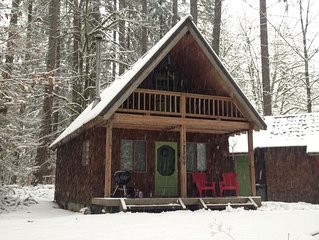 Ski Cabin getaway with cedar sauna