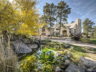 Stunning 6 Bedroom Spearfish Chateau On Private Canyon 5 Minutes From Downtown