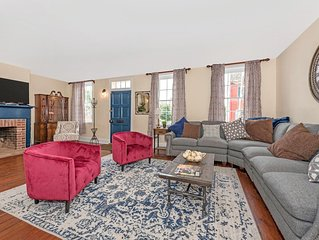 Historic Restored Downtown 4 Bedroom Home + Modern Industrial Flair