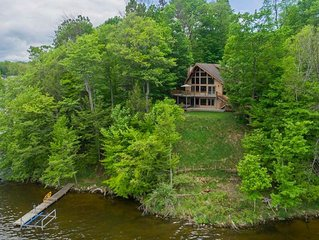 Stunning Executive Home on Upper Hamlin Lake, Ludington, MI
