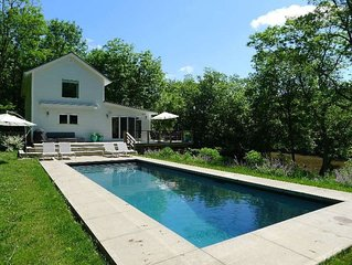 Stunning Waterfront Hudson, NY Home with Pool