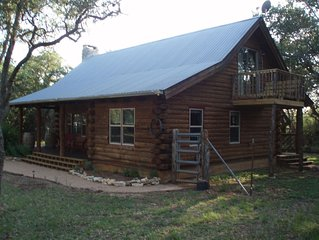 Relax and Recharge in Wimberley at The Cabin in the Oaks