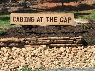Cabins at the Gap | The Getaway Cabin | 1 Bedroom 1 Bath |loft|