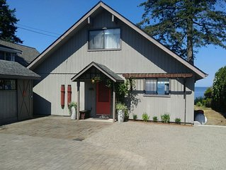 Charming Birch Bay Beach Front House ~ Newly Remodeled In 2017