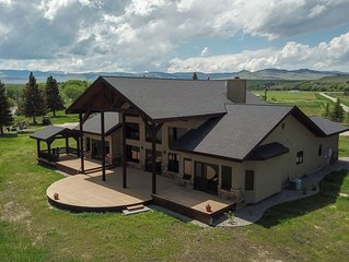 Luxury Home On The Madison River Near Ennis Montana