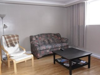 Montreal lower apartment