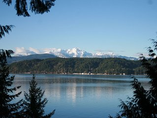 No Better View of the Olympics (near Alderbrook Resort)