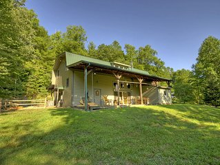 Spacious, Rustic cabin in the heart of the Aska Wilderness Area.