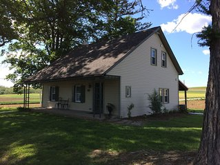 COMPLETELY RESTORED 1700's HOME SURROUNDED BY FARMLAND