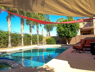 Private Pool - Johnson Ranch Rental - Pickleball Courts nearby