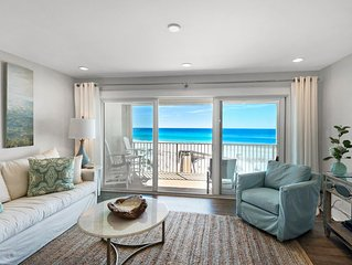 Gulf Front Renovated Condo With Stunning Views