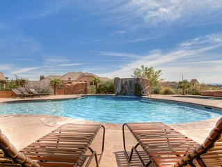 Luxurious Southern Utah Oasis with Two Master Suites - Sleeps 14