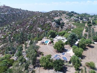 Discount this weekend! Ramona Wine Country Cabin Near San Diego