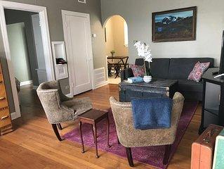 Private Restored Corner Apartment