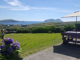 Breathtaking scenery of Great Blaskets and Skellig Islands on Wild Atlantic Way
