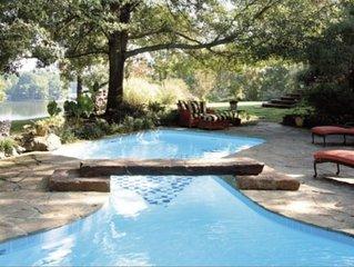 Lake Hamilton, Private Pool, Sleeps 23, Retreats, Weddings, Events, 36 Acres