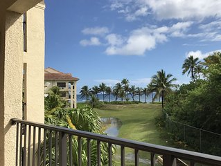 Delux Ocean Front 2 bed/2 bath fully furnished second floor condo.