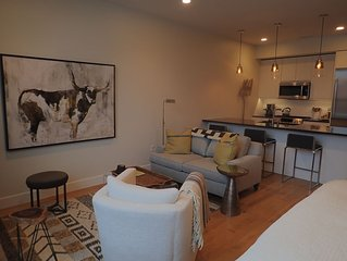 Executive studio condo in downtown core in  5 West Building. Monthly rental.