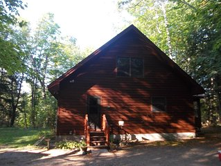 **May 2020 Special**  Book Burch Hill Cabin for your up north Michigan Vacation!