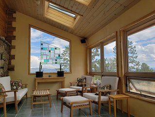 Luxury Log Home at Foot of Mt. Princeton