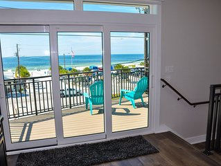 Brand New, 3/3 Private Home w Gulf Views from all 3 stories. Steps to the Beach!