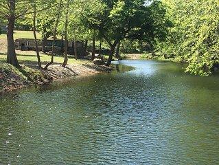 OFF SEASON RATES | gorgeous waterfront on 16 acres | 5/5 home sleeps 20