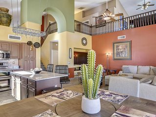 PALMVALLEY - MINUTES TO GOODYEAR & CAMELBACK BALL PARKS/4BRM/HEATED POOL/HOT TUB