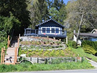 Vashon Waterfront Home with Spectacular South Facing Views!