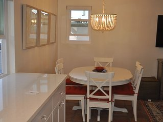 Remodeled W/ patio, 4th house from ocean, Garage parking