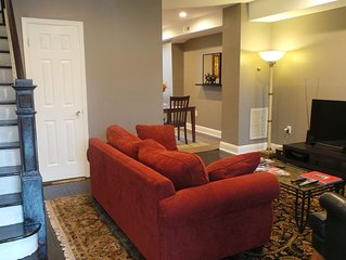 3BR Capitol Hill Rowhome across from Stadium Armory Metro w/Private Parking