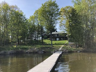 Family friendly cottage on beautiful Peninsula  Lake near Huntsville, Ontario