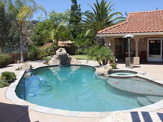 San Diego home with RESORT BACKYARD!!