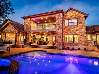 Stunning Mediterranean Home Away From Home w/Pool-Perfect San Antonio Location!