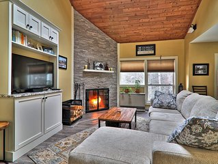 Beautiful 2 bedroom condo with sleeping loft.  Walk to lift, ski  home!!