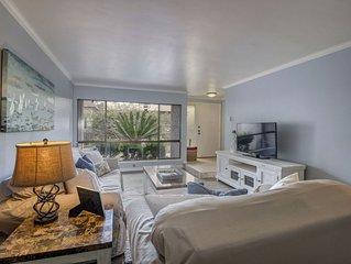 Beautiful spacious 2 Bed, 2&1/2 Bath condo with private beach access. Sleeps 6