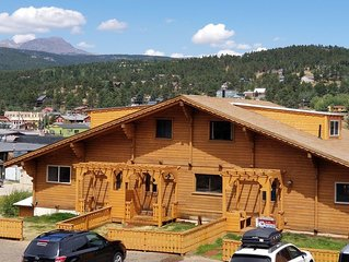 Mountain Chalet in town short and longer stays of 30 days or more available