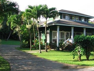 100 Steps to Anini Beach - Peaceful, Private, close to Princeville and Hanalei