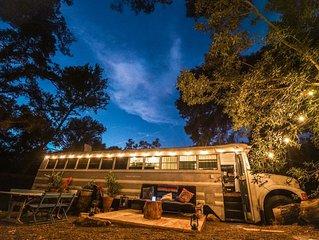 The Happiness Bus w/ Pool at The Malibu Retreat