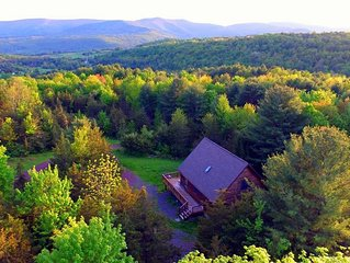 The majestic Catskill mountains can be seen from our deck every day.