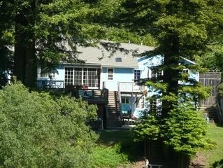 Grandma's House: Riverfront, Gorgeous View, Beach/Swimming/Canoeing Dog Friendly